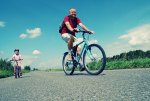 cyclist, bicycle